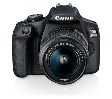 Interchangeable Lens Cameras - EOS 1500D Kit (EF S18-55 IS
