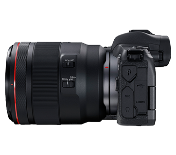 Canon EOS R Kit Side Left