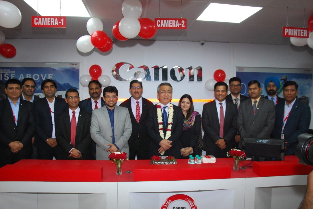 Canon expands its sales and service footprint in North India - Canon