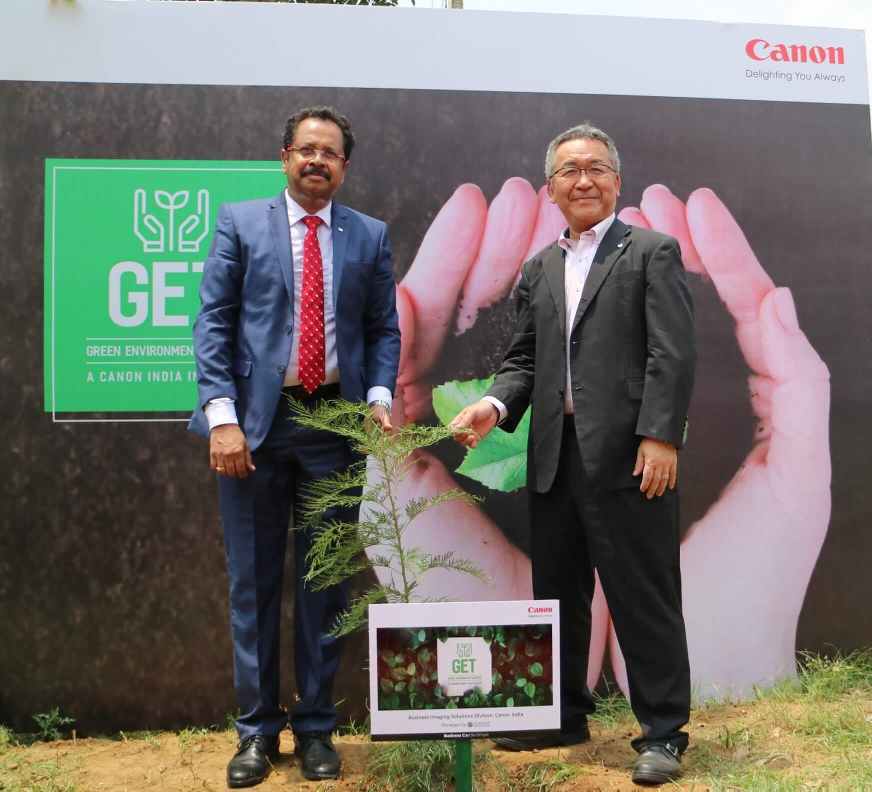 Canon Announces the Launch of the Green Environment Together