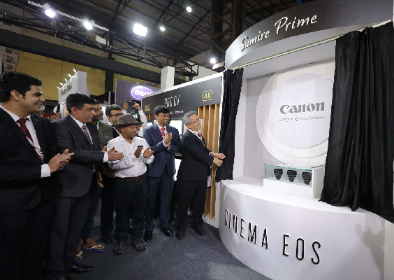 Canon India exhibits ground breaking technology at Broadcast India Show 2019