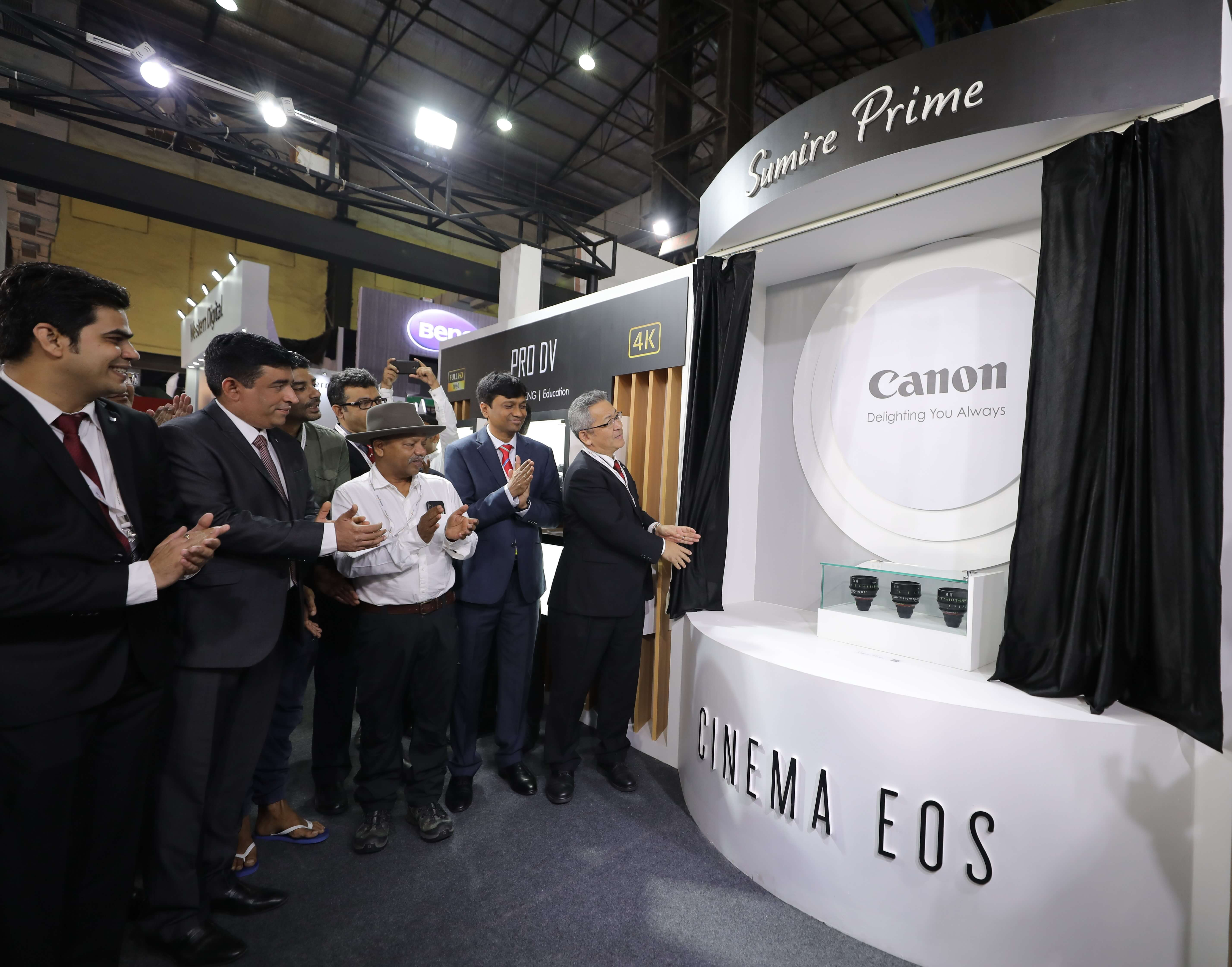 Canon India exhibits ground breaking technology at Broadcast India ...