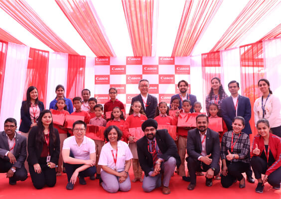 Canon India makes every step count with its new CSR initiative - Canon Impact League