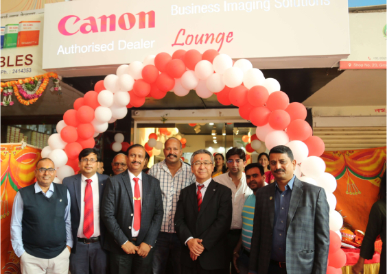 Strengthening its foothold in North-Western market, Canon India launches Business Imaging Solutions (BIS) Lounge in Udaipur