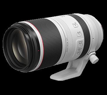 RF100-500mm f/4.5L IS USM Front Slant