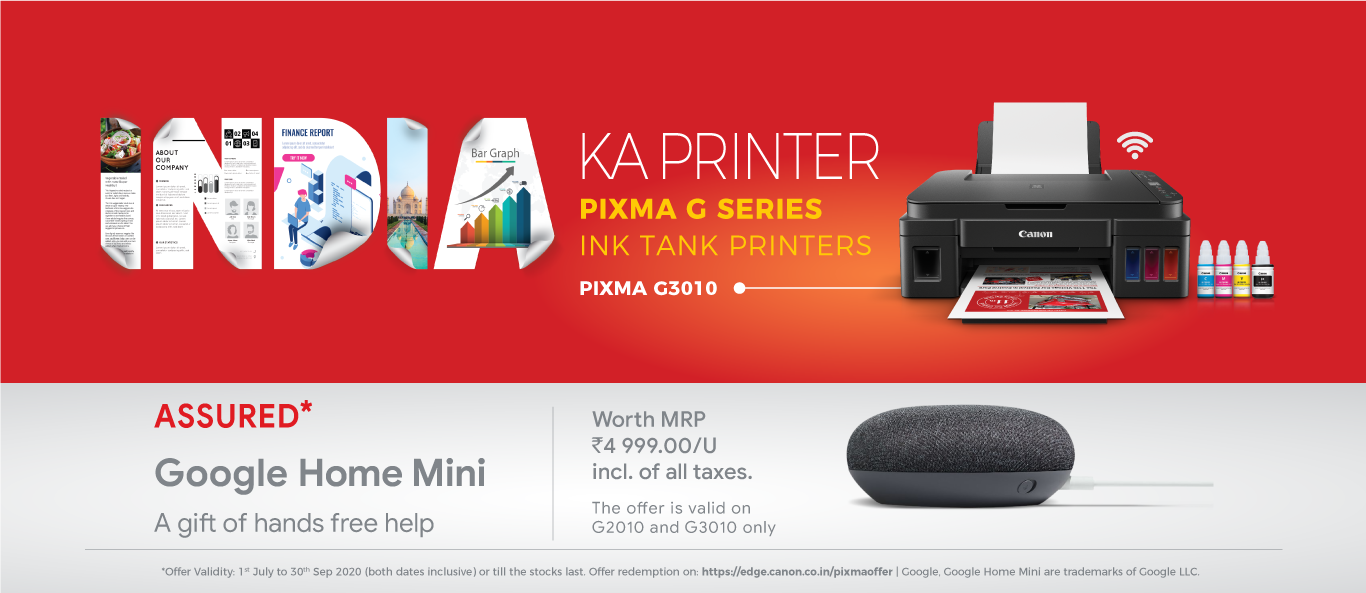 "Canon India announces new campaign ""India Ka Printer"" to promote ..."