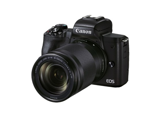 Capture Dynamic Videos and Stills with Canon's Versatile EOS M50 Mark II