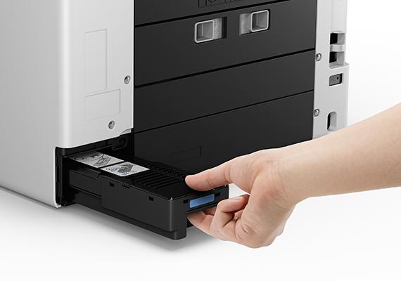 User Replaceable Ink Maintenance Cartridge