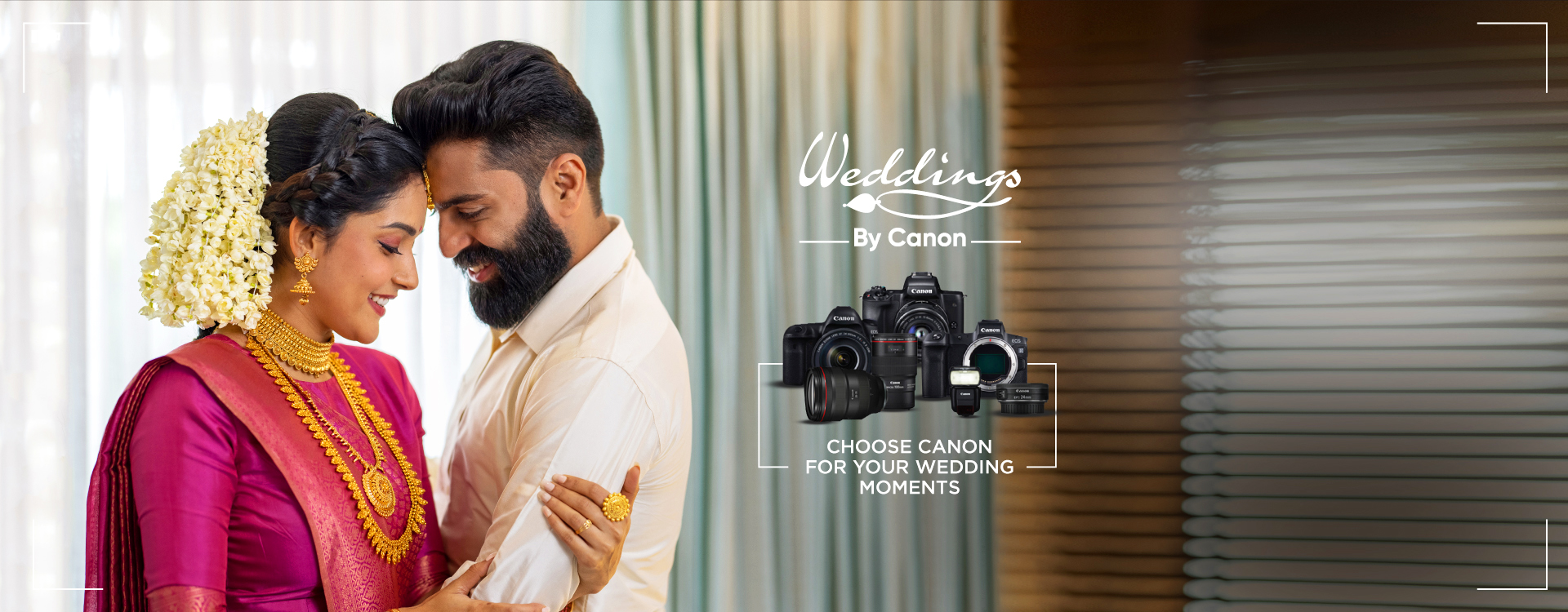 Weddings by Canon 2nd Banner