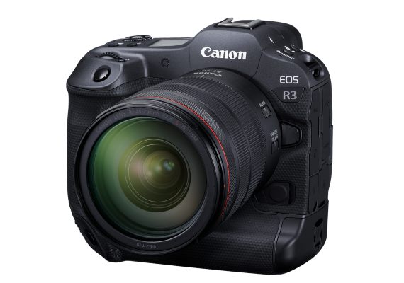 Redefining Speed and Performance with the Latest EOS R3 The EOS R3 showcases the pinnacle of EOS R technology, with amazing new features such as Eye Control AF, up to 30fps continuous shooting and vehicle detection