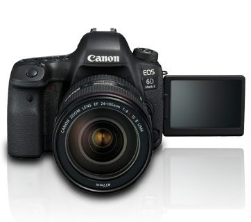 Interchangeable Lens Cameras - EOS 6D Mark II Kit (EF24