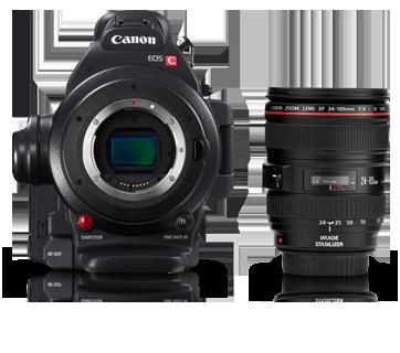 Professional Cinema Cameras - EOS C100 Mark II - Canon India